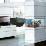 Современный Coral Аквариум в Дизайне Кухни