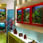 Настенный аквариум в виде картины — 1