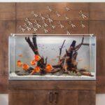 Аквариум — элемент декора в современном интерьере