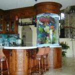 Акриловый аквариум в виде цилиндра — 1