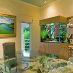 Аквариум для домашнего интерьера: прост и красив